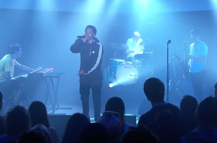 "Earl Sweatshirt & BADBADNOTGOOD ""Huey"" & ""Grief"" / ""Kaleidoscope""  (live on 'Kimmel')"