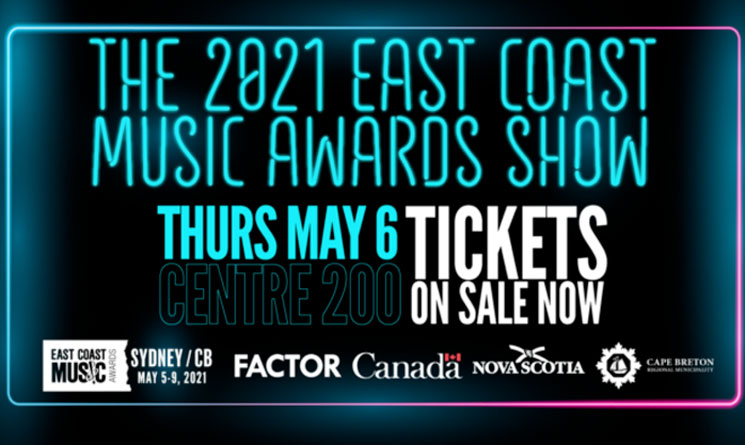 East Coast Music Awards to Take Place Virtually in June
