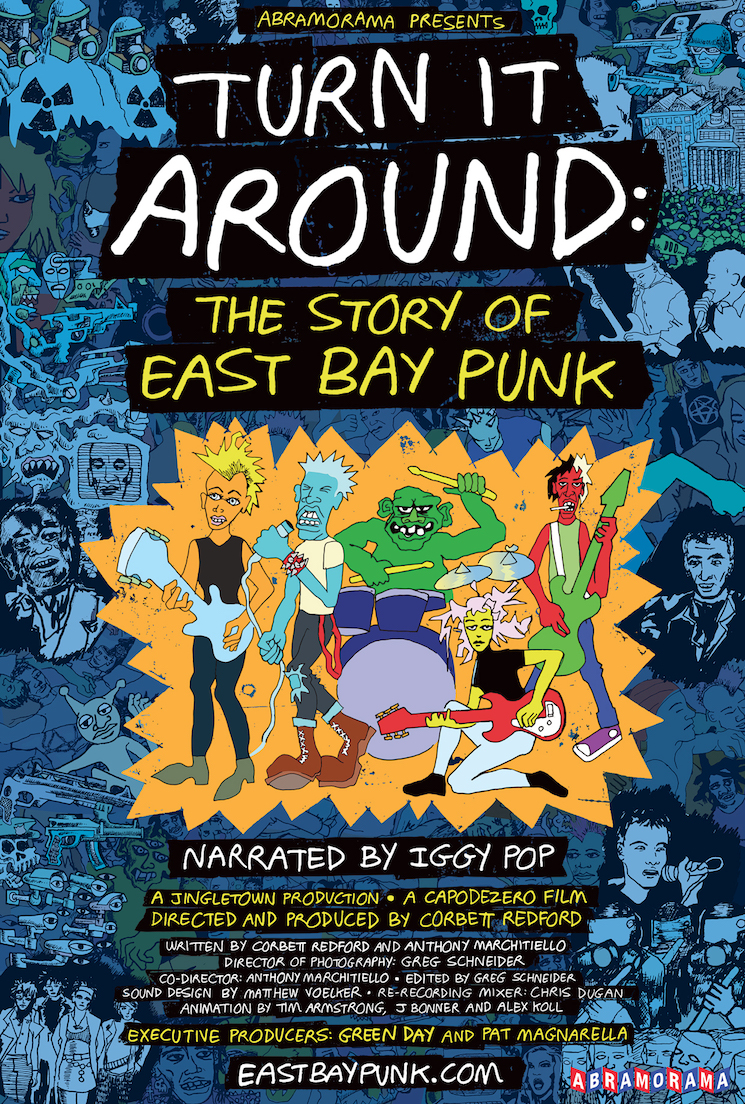 Iggy Pop Narrates the First Trailer for 'Turn It Around: The Story of East Bay Punk'