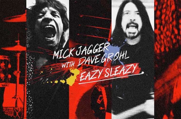 Mick Jagger and Dave Grohl Team Up for Post-Pandemic Jam 'Eazy Sleazy'