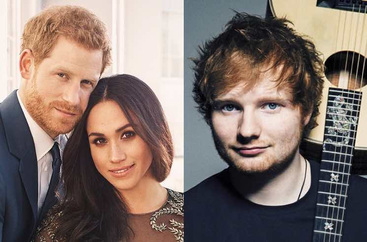 Ed Sheeran Will Apparently Perform at Prince Harry and Meghan Markle's Royal Wedding