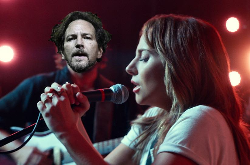 "Watch Eddie Vedder Cover ""Maybe It's Time"" from 'A Star Is Born'"