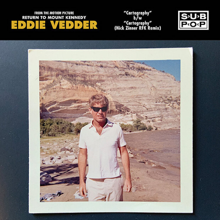 Eddie Vedder Shares Instrumental Single 'Cartography'