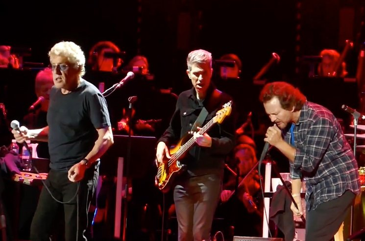 Watch Eddie Vedder Join the Who Onstage in Vancouver