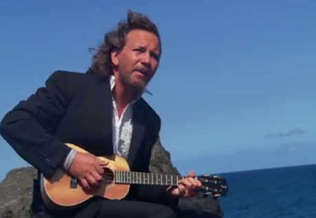 "Eddie Vedder ""Can't Keep"" (video)"