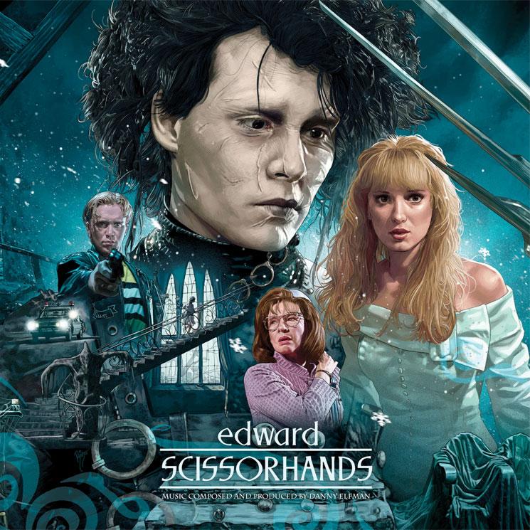 Danny Elfman's Classic 'Edward Scissorhands' Score Gets 30th Anniversary Vinyl Reissue