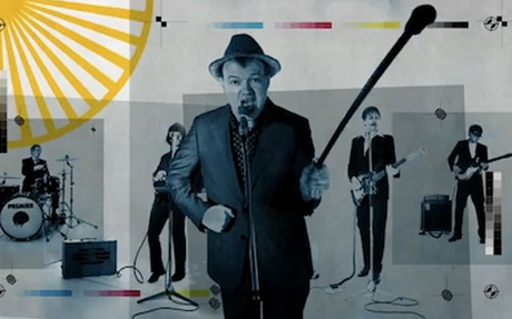 "Edwyn Collins ""Do It Again""  (ft. Alex Kapranos and Nick McCarthy of Franz Ferdinand) (video)"