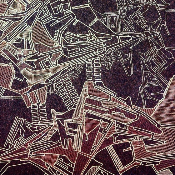 "Ekoda Map ""Pastels"""