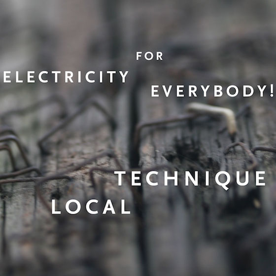 Electricity for Everybody! 'Local Technique' (album stream)