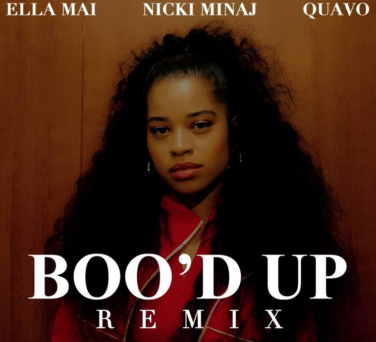 "​Nicki Minaj and Quavo Hop on Remix of Ella Mai's ""Boo'd Up"""