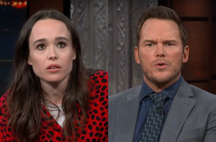 "​Chris Pratt Responds to Ellen Page's Criticism of His ""Anti-LGBTQ"" Church"