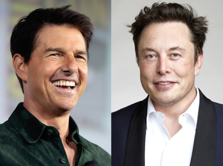 Elon Musk and Tom Cruise Want to Shoot a Movie in Space: Report