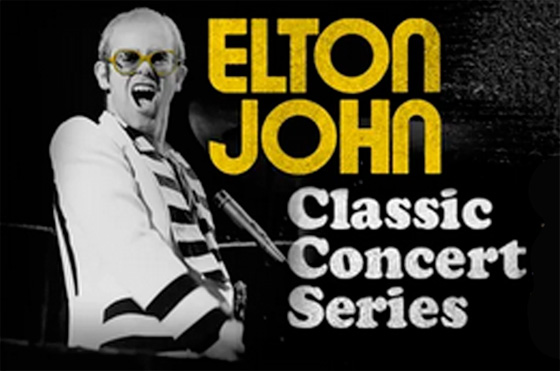Elton John Launches 'Classic Concert Series'