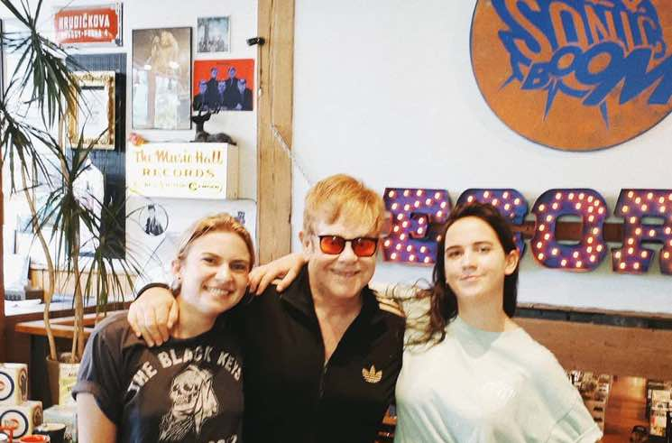 Elton John Just Bought a Drake Record at Sonic Boom in Toronto