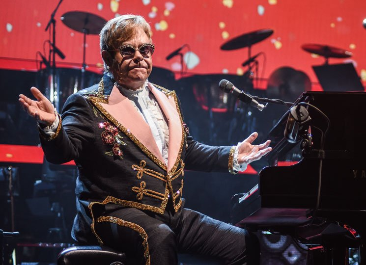 Elton John Says Most Charting Records Are 'Not Real Songs'
