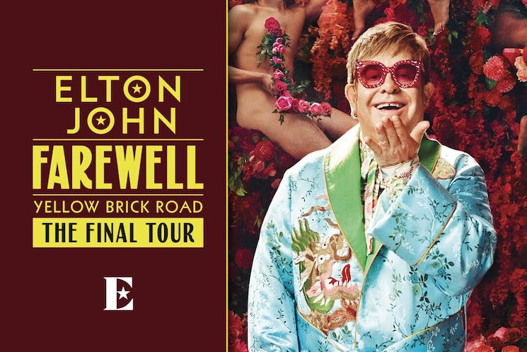 Elton John Expands 'Farewell Yellow Brick Road Tour' with New Canadian Dates