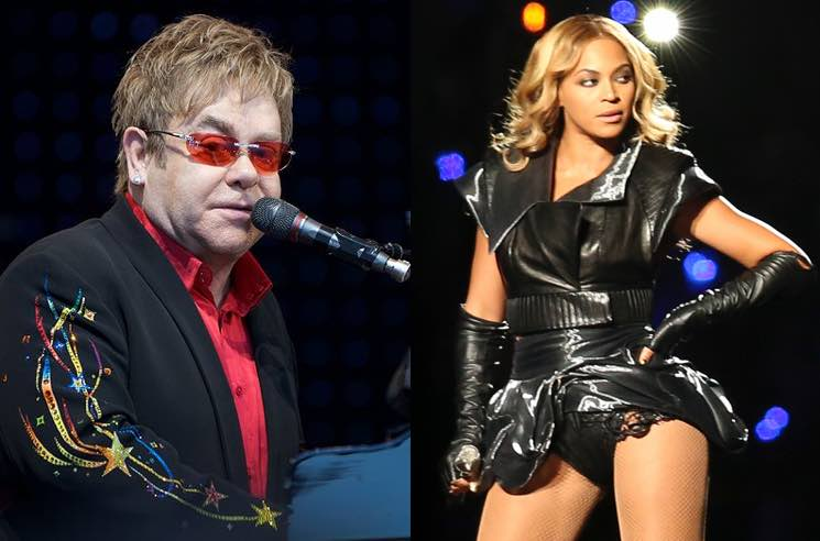 Elton John and Beyoncé Are Reportedly Working on a New 'Lion King' Song