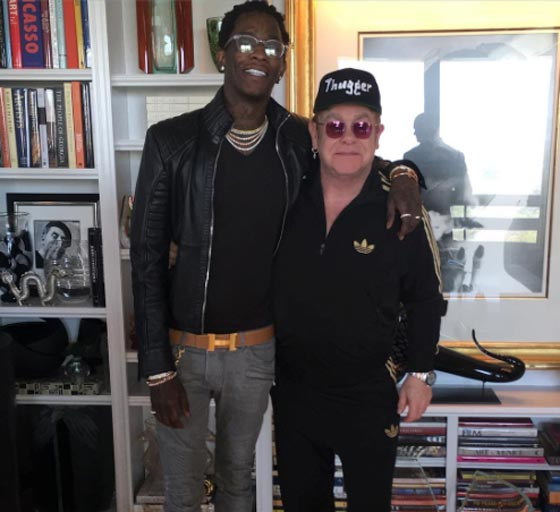 Young Thug's Remix of Elton John's 'Rocket Man' Has Leaked and It's Stunning