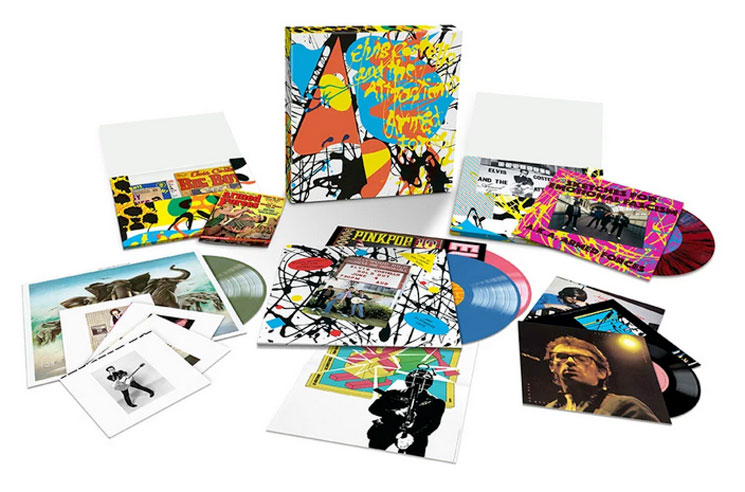 Elvis Costello Unveils 'The Complete Armed Forces' Box Set