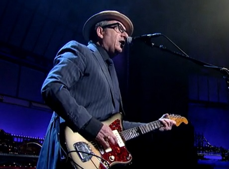 Elvis Costello 'The Last Year of My Youth' (live on 'Letterman')