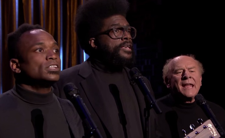"The Roots ""Can't Feel My Face"" (the Weeknd cover) (ft. Art Garfunkel)"