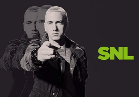 Eminem 'Berzerk' / 'Survivor' (live on 'SNL')