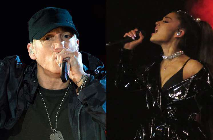 ​Eminem Made a Manchester Bombing Joke on His New Album and Ariana Grande Fans Are Pissed