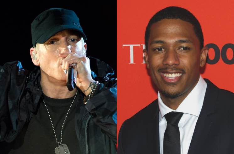 ​Nick Cannon Dropped a Third Eminem Diss Track