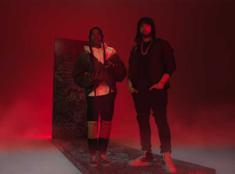 Boogie and Eminem Get Stormy in New 'Rainy Days' Video