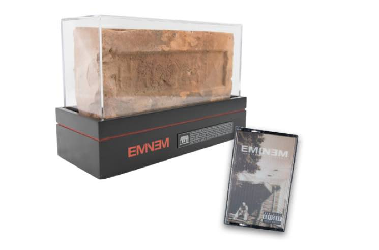 Eminem Stans Can Now Own a Brick from His Childhood Home