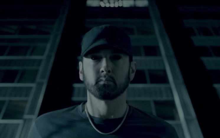 """Eminem Revisits 'Kamikaze' with """"Fall"""" Video"""