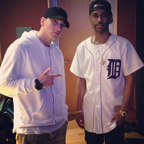 Eminem Hits the Studio with Big Sean
