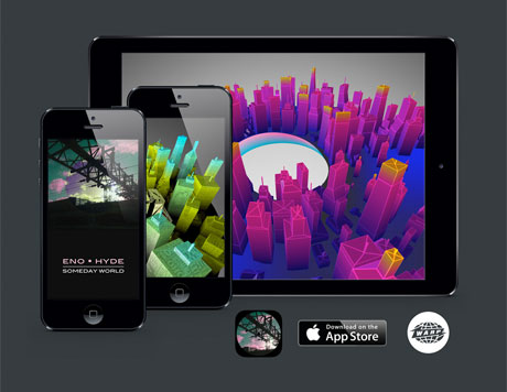 "Eno • Hyde Release ""Augmented Reality"" App for 'Someday World'"