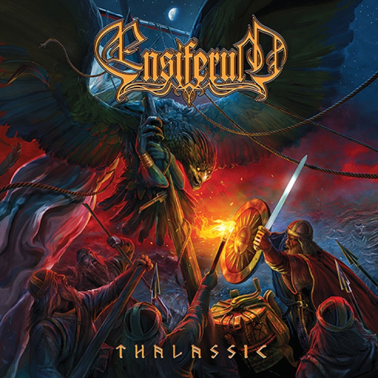 Ensiferum Bring Extra Vigour to Their Finnish Folk Metal on 'Thalassic'
