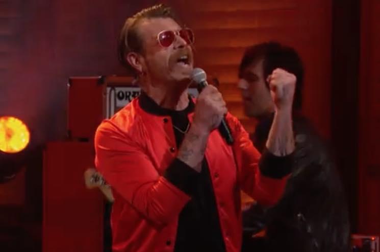 Watch Eagles of Death Metal Perform 'Silverlake (K.S.O.F.M.)' on 'Conan'