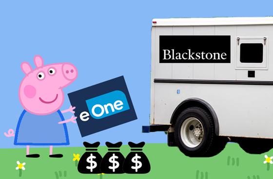 Hasbro Sells eOne Music to Blackstone for $385 Million