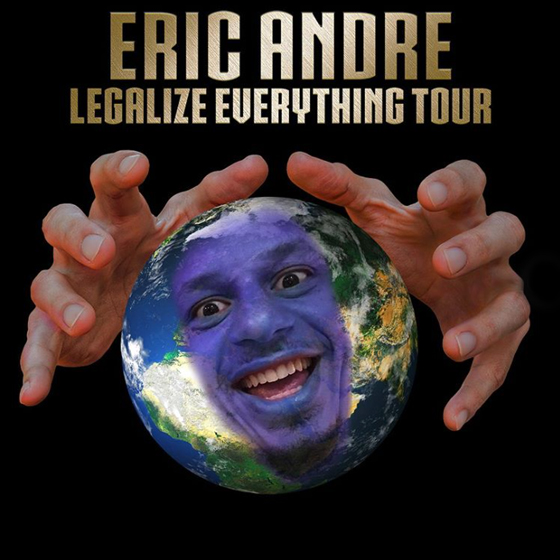 "Eric Andre Maps Out ""Legalize Everything"" Standup Tour"