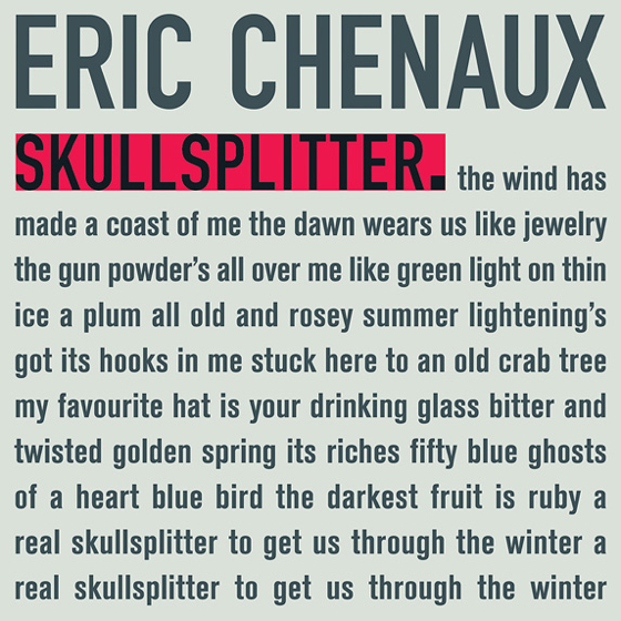 Eric Chenaux Skullsplitter