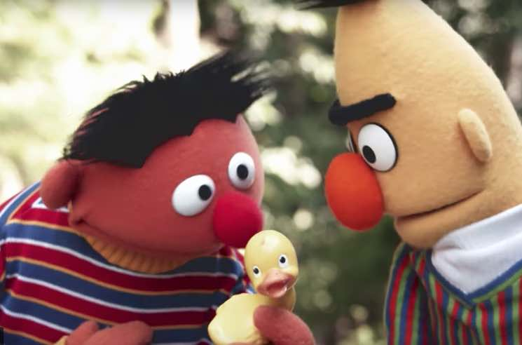 "​""Despacito"" Gets Reworked into ""El Patito"" by Bert and Ernie on 'Sesame Street'"
