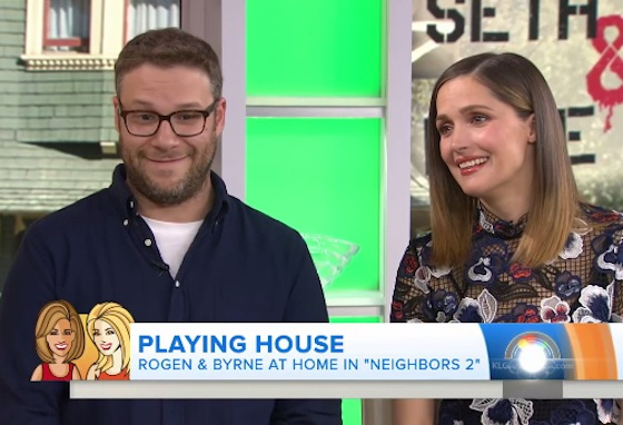 Seth Rogen Mocks Kathie Lee Gifford on Live Television over the Meaning of 'Escrow'