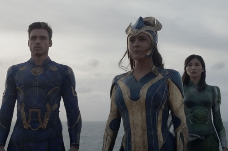 Watch the First Teaser for Marvel's 'Eternals'