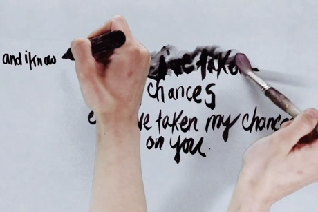 "Sharon Van Etten ""Taking Chances"" (lyric video)"