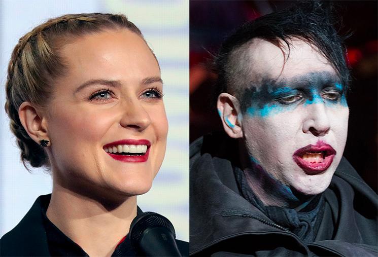 Evan Rachel Wood Publicly Names Marilyn Manson as Alleged Abuser