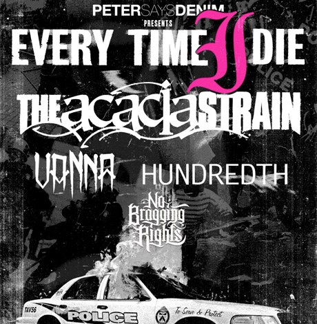 Every Time I Die Announce Canada/U.S. Tour with the Acacia Strain, Vanna