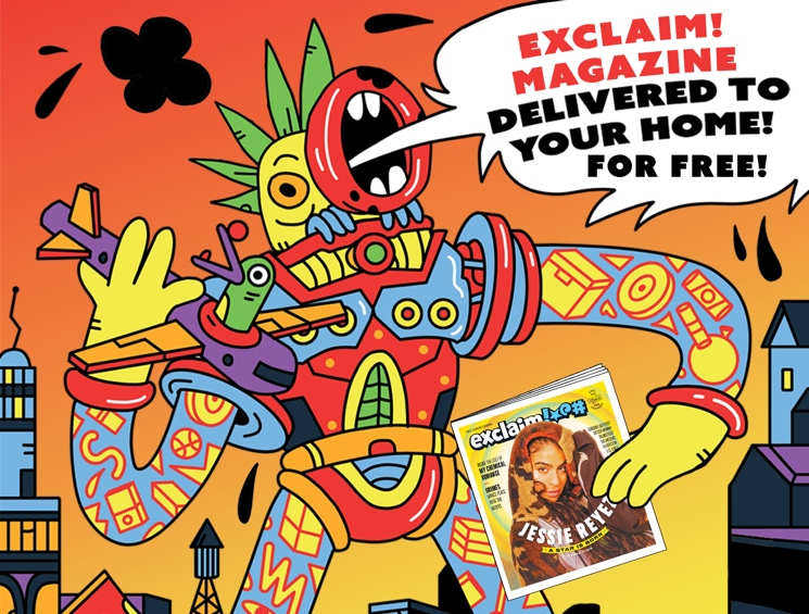 Exclaim! Magazine Launches Free Home Delivery