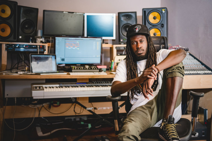 Inside Junia-T's Soleil Sound Studio, Where He Works With Jessie Reyez, Slakah the Beatchild and on His New Album