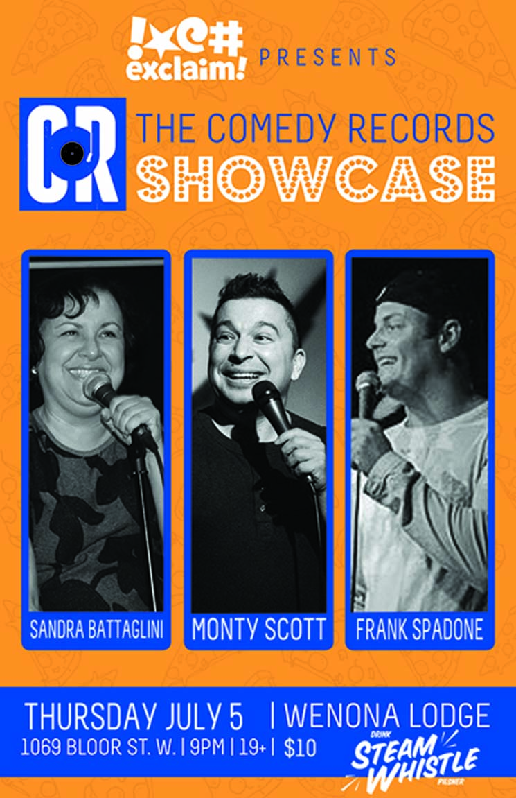 Comedy Records and Exclaim! Showcase Supports the Canadian Association of Stand-Up Comedians