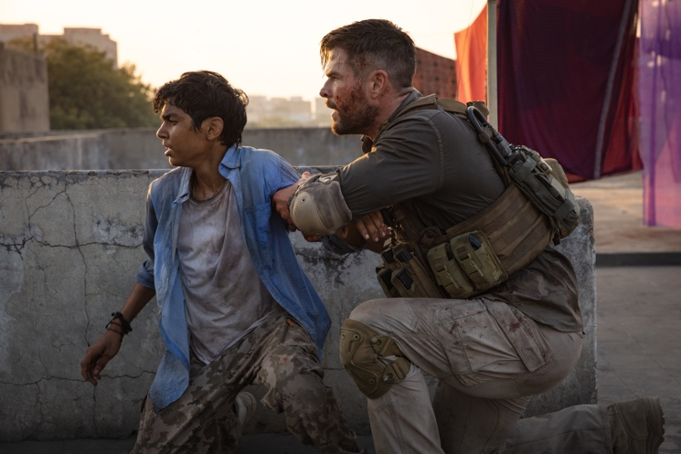 'Extraction' Makes Up for Its Iffy Narrative with the Year's Most Intense Action Sequences Directed by Sam Hargrave