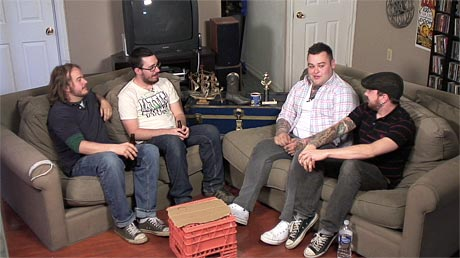 Talk Show Night At Juicebox Manor: Alexisonfire