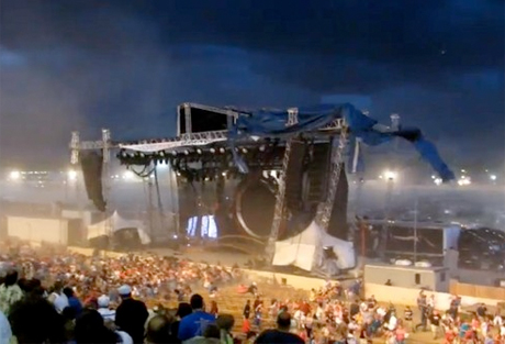 Two Claimants Accused of Faking Injuries in Sugarland Stage Collapse Case